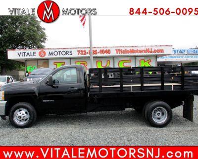 Used 2011 Chevrolet Silverado 3500HD 12 FOOT STAKE BODY TRUCK ** 15K MI, 2 AVAILABLE **