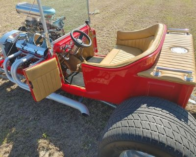 1923 Ford T-Bucket Convertible Coupe Restored Roadster Stretched Engine Swap