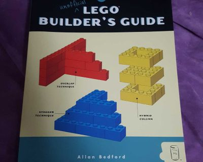 The Unofficial LEGO Builder's Guide Paperback by Allan Bedford