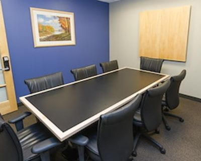 Private Meeting Room for 8 at Intelligent Office - Boston
