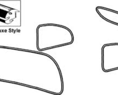 Oval Window Rubber Seal Kit Solid and DeLuxe Style