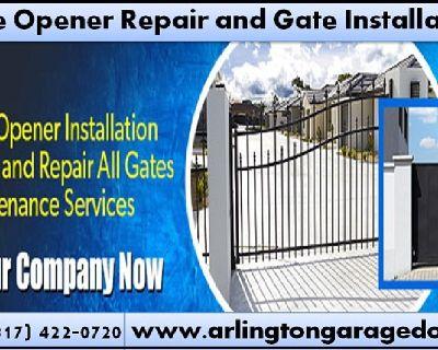 Emergency Gate opener Repair   Garage Door Repair   Arlington, Houston