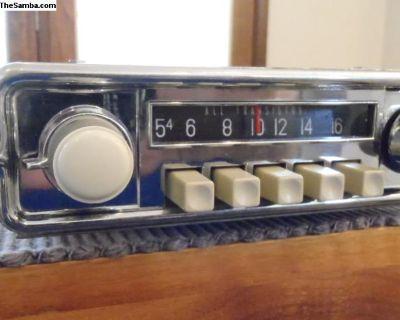 1963-66 AR 6V AM Radio Gray Restored