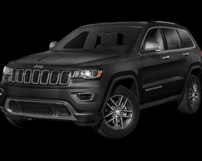 New 2021 Jeep Grand Cherokee 80th Anniversary Edition RWD 4D Sport Utility