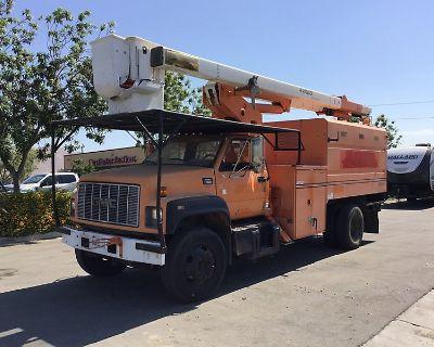 1997 GMC C7500 Boom, Bucket, Crane Trucks Truck