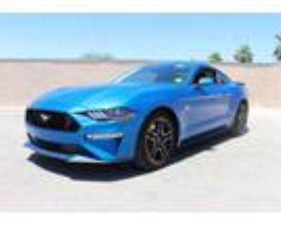 2020 Ford Mustang Blue, 4K miles