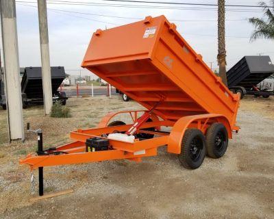 5x10 Dump Trailer Custom