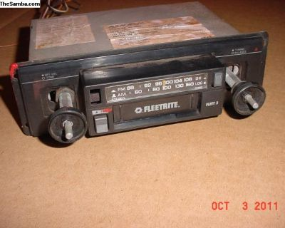 Old Audiovox Radio With Cassette