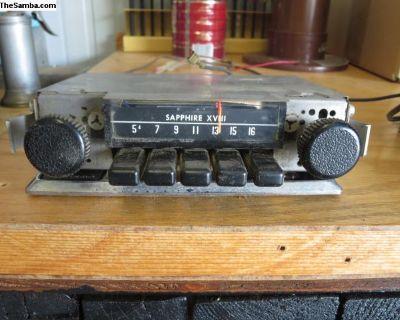 Sapphire XVIII VW Radio