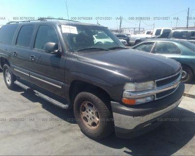 Salvage Gray 2005 Chevrolet Suburban