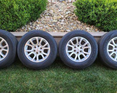 GMC 18 Inch wheels Goodyear Tires