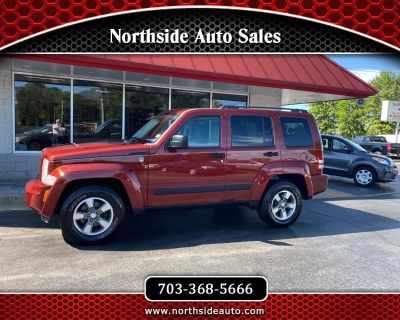 Used 2008 Jeep Liberty 4WD 4dr Sport