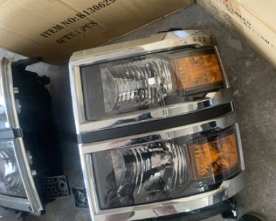 14 -15 Silverado Headlights