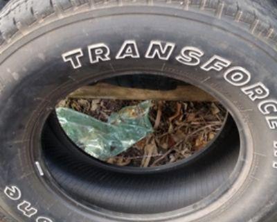 Firestone Highway tread 265-70-17 tires 10 ply