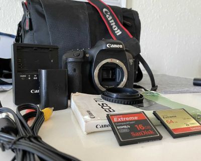 Canon EOS 7D - body only