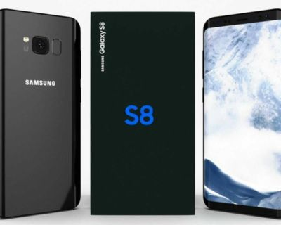 SAMSUNG GALAXY S8 PHONE 64GB WITH ORIGINAL BOX AND ACCESSORIES