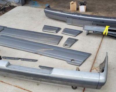 Fiberglass Bumpers Dam Cladding for Carat Multivan