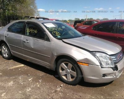 Salvage Silver 2007 Ford Fusion