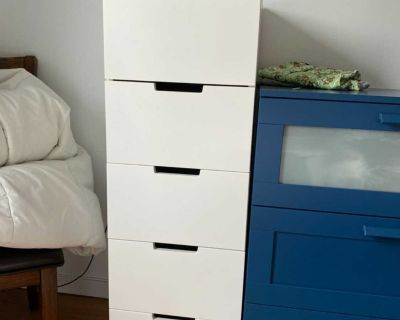 Dresser drawers and night table