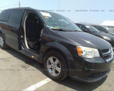 Salvage Gray 2012 Dodge Grand Caravan