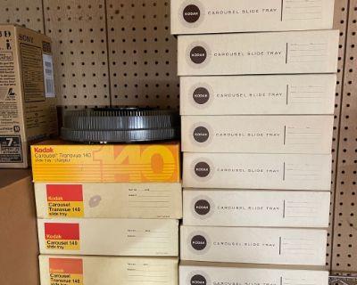 FS: Kodak Carousel trays - 80-slides and 140-slides (USA only)