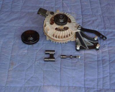 Mopar Big Block Alternator Bracket Set 1967 - 1972 W Long Adjustment Bracket