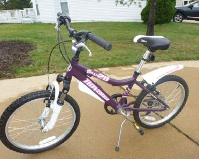 $130 Girl's 20-inch 6-speed Novaro Pixie Mountain Bike