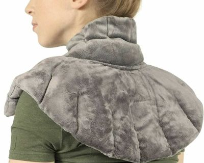 Microwaveable Neck and Shoulder Wrap