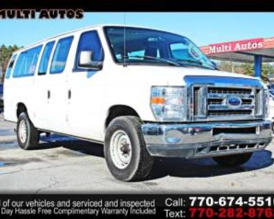 2013 Ford Econoline Wagon E-350 Super Duty XLT Extended