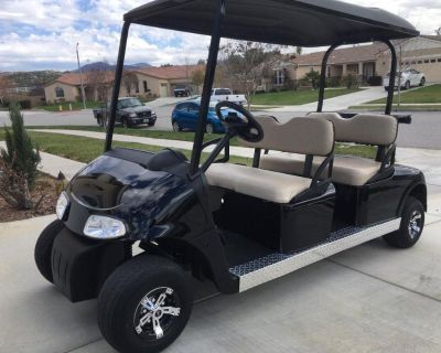 golf cart stretched six seat limo