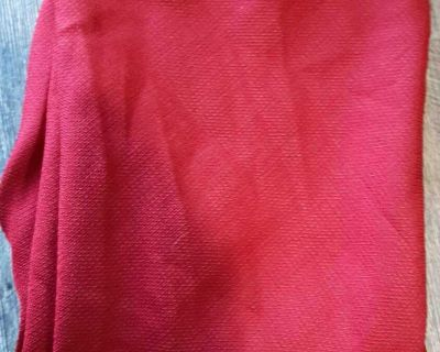 """Burgundy tablecloth 70"""" used once"""