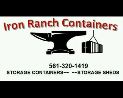SHIPPING CARGO STORAGE CONTAINERS