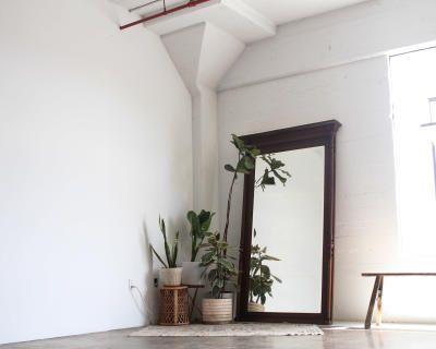 Naturally Lit Minimal Antique Loft, Los Angeles, CA