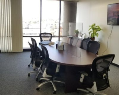 Ktown Modern Offices W/ Conference Room Views Of Hollywood Sign, Los Anglees, CA