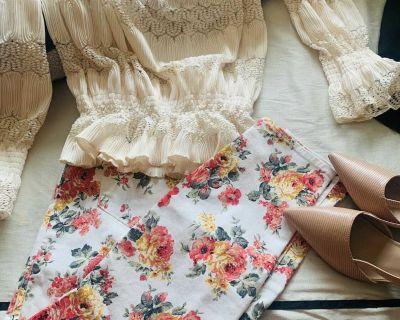 Jordache pants and blouse