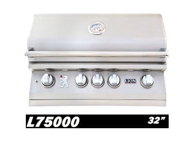 Lion L75000 32-Inch Stainless Steel Built