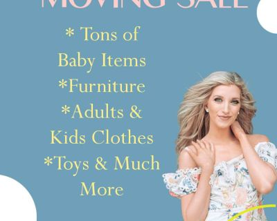 Huge MOVING SALE! Lots of baby and kids clothes!
