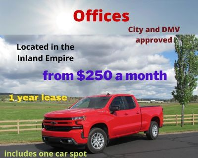 Retail Auto Dealer Offices for lease