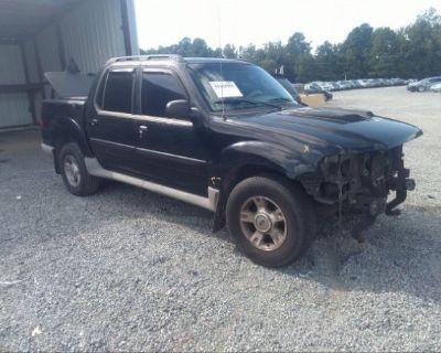 Salvage Black 2003 Ford Explorer Sport Trac