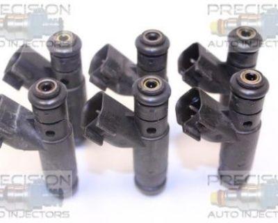 Set Of 6 Rebuilt 1999 Plymouth Prowler 3.5l Sohc Fuel Injectors