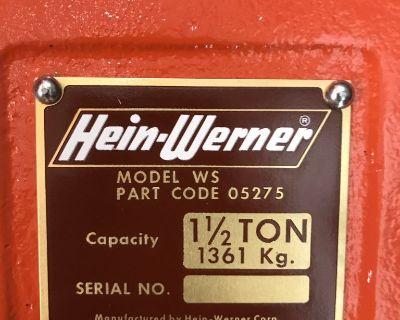 Hein Werner vintage floor jack