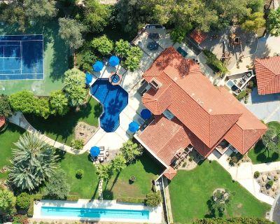 Hacienda Santa Rosa - A Private Luxury Tennis Court Estate - Rancho Mirage