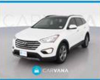 2014 Hyundai Santa Fe White, 81K miles