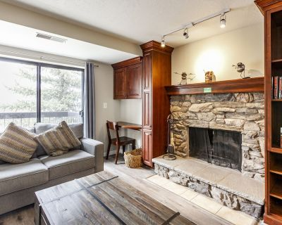 BRAND NEW LISTING - Gorgeous Remodeled Condo: Soaker Tub, Wood Fireplace - Downtown Park City