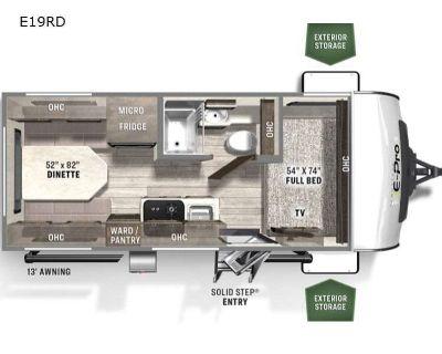 2022 Forest River Rv Flagstaff E-Pro E19RD