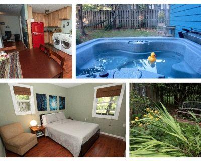 Serenity Cottage Hot Tub Parkway Retreat w/ kitchen & patio garden - Bent Creek