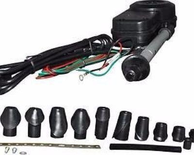 Electric Antenna, Black, 28mm, Porsche 911 (63-89)