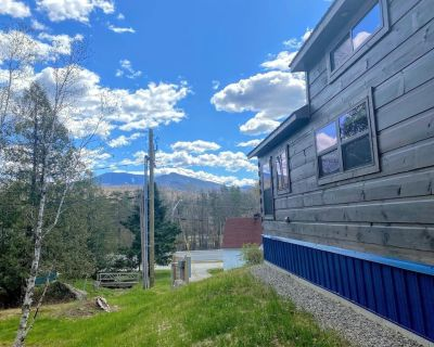 """B2 NEW!! Awesome """"Tiny Home"""" with A/C, Mountain Views, Minutes to Skiing, Hiking, Attractions - Carroll"""