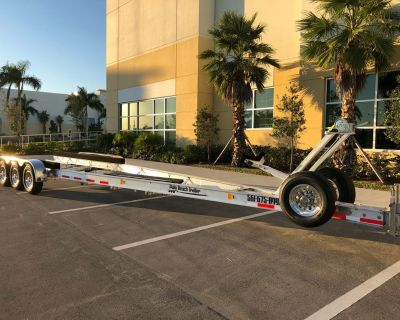 New Aluminum Boat Trailer 20000Lbs for 36ft Boats