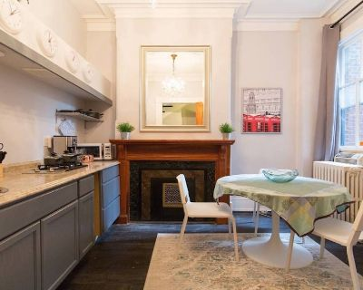 Renovated 1 Bedroom Apartment in Luxury Historic Rowhome, Parking, Keyless Entry - Stanton Park